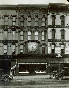 Herkner Jewelers (now Cinco de Mayo), Monroe Center - c. 1925