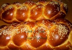 Greek Desserts, Greek Recipes, Challah, Easter Cookies, Yams, Holiday Baking, Sweet Bread, Waffles, Food And Drink