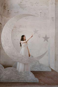 Starry Night Wedding, Moon Wedding, Celestial Wedding, Dream Wedding, Wedding Day, Lace Wedding, Wedding Themes, Wedding Photos, Wedding Decorations