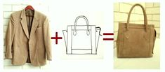 Tutorial: How I Made a Bag from a Jacket