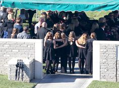 Paul Walker's Funeral: Family and Loved Ones Say Final Goodbyes to Late Actor