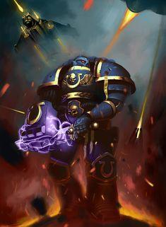 ArtStation - Warhammer Ultramarine, Nail Khaydarov