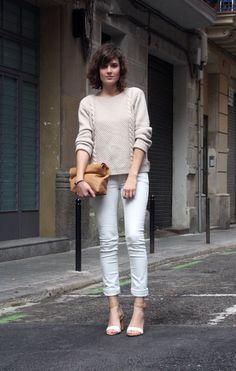 awesome white nude street style photo form mangoandsalt fashion blog