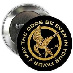 The Hunger Games: May the Odds Be Ever in Your Favor - Mockingjay Button