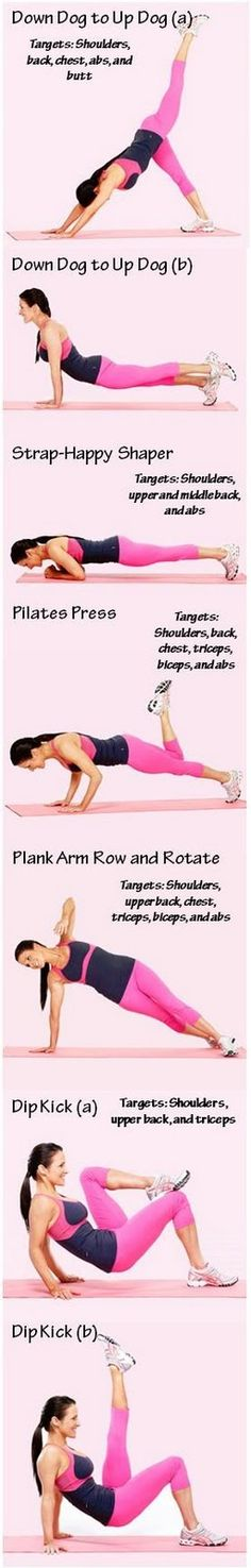 Health and Fitness: 5 Steps for Great Arms....May have to try