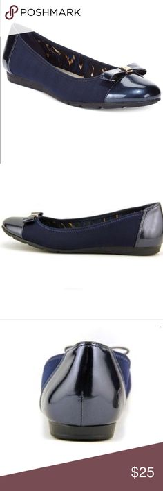 Anne Klein sport navy flats new Brand new in box, navy with cushion sole! Anne Klein Shoes Flats & Loafers