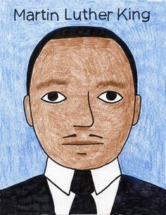 How to Draw Martin Luther King | Art Projects for Kids | Bloglovin'