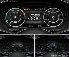 AUDI concept meter