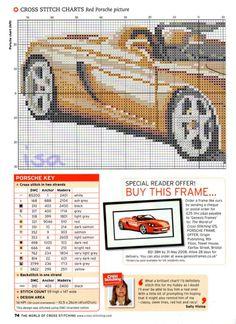 Porsche cross stitch