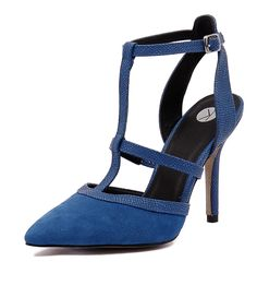 With flattering lines and multi-textures, this pump is the right mix of sexy! For instant impact after dark, pair them with a standout dress and look-at-me accessories. Shop 'Grove Cobalt' by Ko Fashion at styletread.com.au