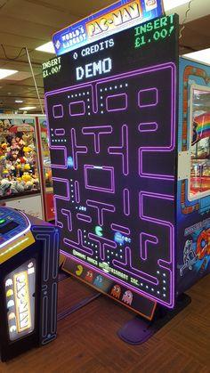 Interactive Architecture, Arcade Console, 80s Video Games, Modern Games, 80s Theme, Arcade Machine, Gadgets And Gizmos, Pinball, Arcade Games