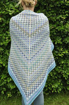 Ravelry: Forget me not shawl pattern by Ruth Sorensen