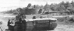 Panzer VI Tiger of Schwere Panzer-Abteilung 503, tank number 322.