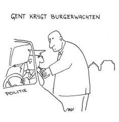 Burgerwacht in Gent