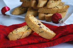 12 Days of Gluten Free cookies - Cranberry Orange Biscotti.  Flavorful and traditional, these twice-baked Italian cookies will delight your guests. Made with Pamela's All-Purpose Flour Artisan Blend or Baking & Pancake mix.