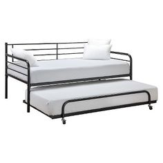 Metal Daybed - Twin - Black - Dhp