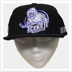 CCM Flat Bill Snap Back: The Online Igloo: Team Store for the Evansville IceMen