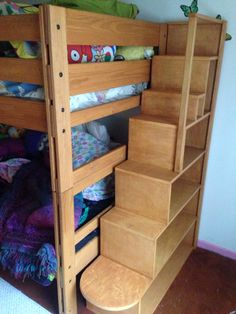 Diy Bunk Beds For The Inspired Abode Pinterest Bunk Beds With