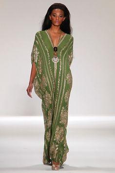 Naeem Khan African Fashion, Indian Fashion, Boho Fashion, High Fashion, Fashion Show, Womens Fashion, Fashion Design, Trendy Fashion, Lolita Fashion