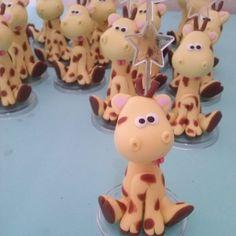 Safari Girafa  Renata Vanzan Doces Ideias Biscuit Orçamentos rvanpontes@yahoo.com.br