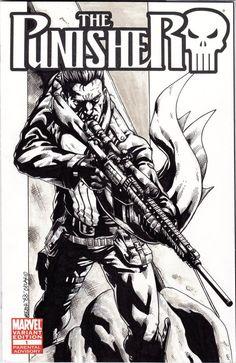 #Punisher #Fan #Art. (Punisher) By: JesterretseJ. (THE * 5 * STÅR * ÅWARD * OF: * AW YEAH, IT'S MAJOR ÅWESOMENESS!!!™) ÅÅÅ+
