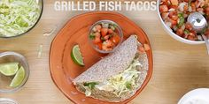 This recipe for Healthy Fish Tacos captures all of the fresh flavors of a true Baja-style fish taco. Check out this video to see how they're made!
