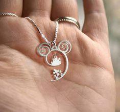 Mickey Mouse Necklace #disney #disneyjewelry #disneystyle