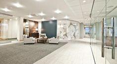 Entry | Visitor Area | Reception Area design idea | | Open but separate work areas | #InteriorDesign | #Work | #Office | #Modern | #ReceptionArea | #Lobby