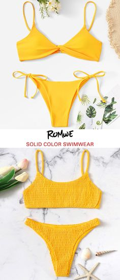 Find Your Favorite Solid Color Swimwear Search - Find Your Fav. - Find Your Favorite Solid Color Swimwear Search – Find Your Favorite Solid Color Swimwear Search Source by Official_Romwe – Source by romweus - Gold Bodycon Dresses, Halter Bodycon Dress, Belted Shirt Dress, Tee Dress, Cute Bathing Suits, Cute Swimsuits, Latest Street Fashion, Cute Outfits, Romwe