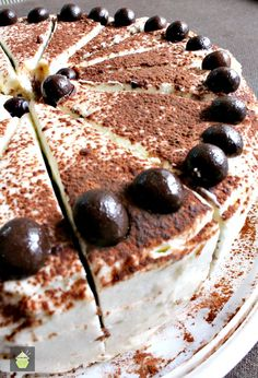 Chocolate Latte Cake. A soft and moist cake with the flavors of a latte coffee and a hit of chocolate for good measure! Nice and easy recipe too!