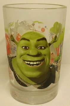 McDonalds-Shrek-the-Third-Glass-Donkey-Gingy-Puss-in-Boots- 2007 Glass features illustrations of Shrek, Donkey, Puss, and Gingy Puss. good condition. | eBay!