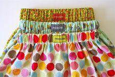 A simple skirt for little girls
