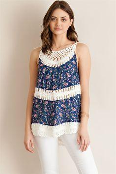 Crochet Detail Top - ME Boutique Online