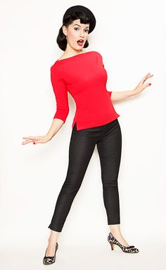 I love the 50's style!  When I'm skinny again.... :)