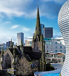 Birmingham, England - St Martins and New Bullring http://www.stagandhenbirmingham.co.uk/