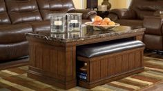 T838-ASH Merihill Coffee Table Set $349  #dfwfurniture