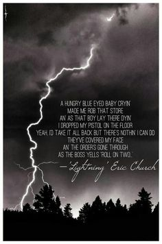 Eric Church - Lightening & Tiptoe ~ imagine dragons | Lyrics | Pinterest | Imagine dragons and ...