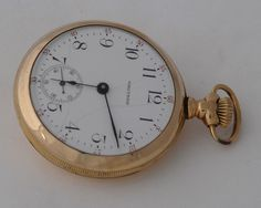 Waltham Pocket Watch, Hand winding , open face #Waltham