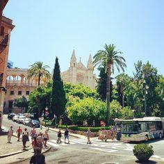 Mallorca, Palma de Mallorca, cathedral, summerland
