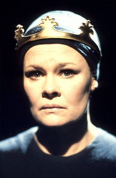 """Judy Dench as Lady MacBeth - a brilliant performance, available to view as film. She truly conjures those """"spirits that tend on mortal thoughts""""!"""