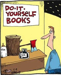 """hahaha :) We cal it DIY :)  """"literature is my utopia."""" - helen keller #libraries humour"""