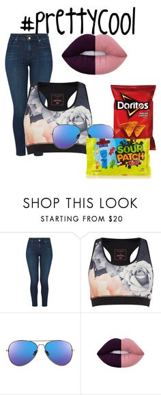 """""""Untitled #259"""" by cutie11-1 ❤ liked on Polyvore featuring J Brand, Ted Baker and Lime Crime"""