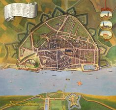 Stadsplattegrond Nijmegen, Feltman - 1669