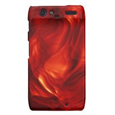 """""""Lava Flow"""" - Motorola Droid RAZR,   Available in iPhone 3,4,5, Samsung Galaxy Nexus,S2,S3, HTC Vivid, and Blackberry cases as well."""