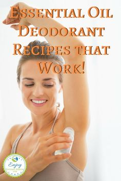 If you ever tried a natural, deodorant and have been disappointed, you're in for a treat! These deodorant recipes made with essential oils WORK!