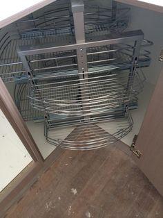Corner storage solutions t&m cabinets Brisbane