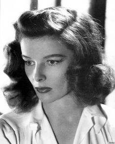kathrine hepburn style | 1940s Actresses Who Inspire Us To Heat Up The Hot Rollers