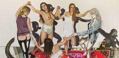 "Berlin Art Week, Kati Heck ""Multikultisause"", 20122, 230x305, cm, oil on canvas"