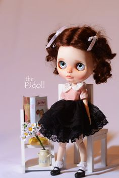 thePJdoll SOLD OUT Bambie Custom Blythe Doll/OOAK di ThePJdoll