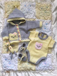 Newborn cat set